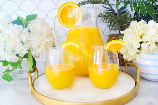 "Mimosa Pitcher Recipe ""The MOMosa"""