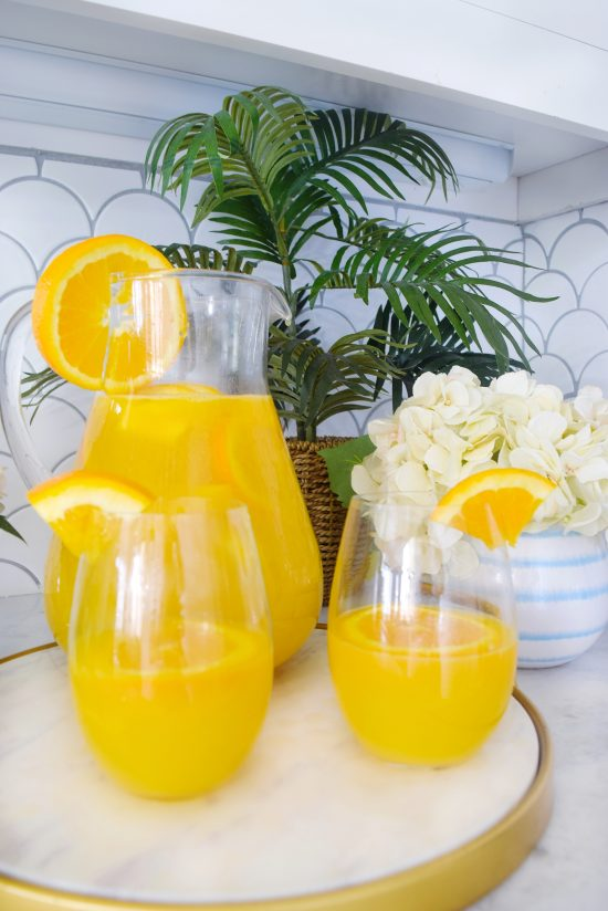 Mango Mama Mimosa How to make the perfect mimosa Mimosa recipe pitcher