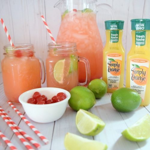 Cherry Limeade Orange Juice Sonic Sunrise