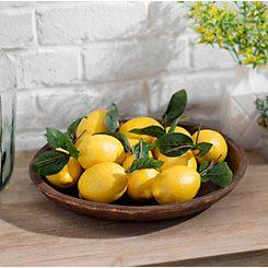 Decorative Lemons, Set of 12