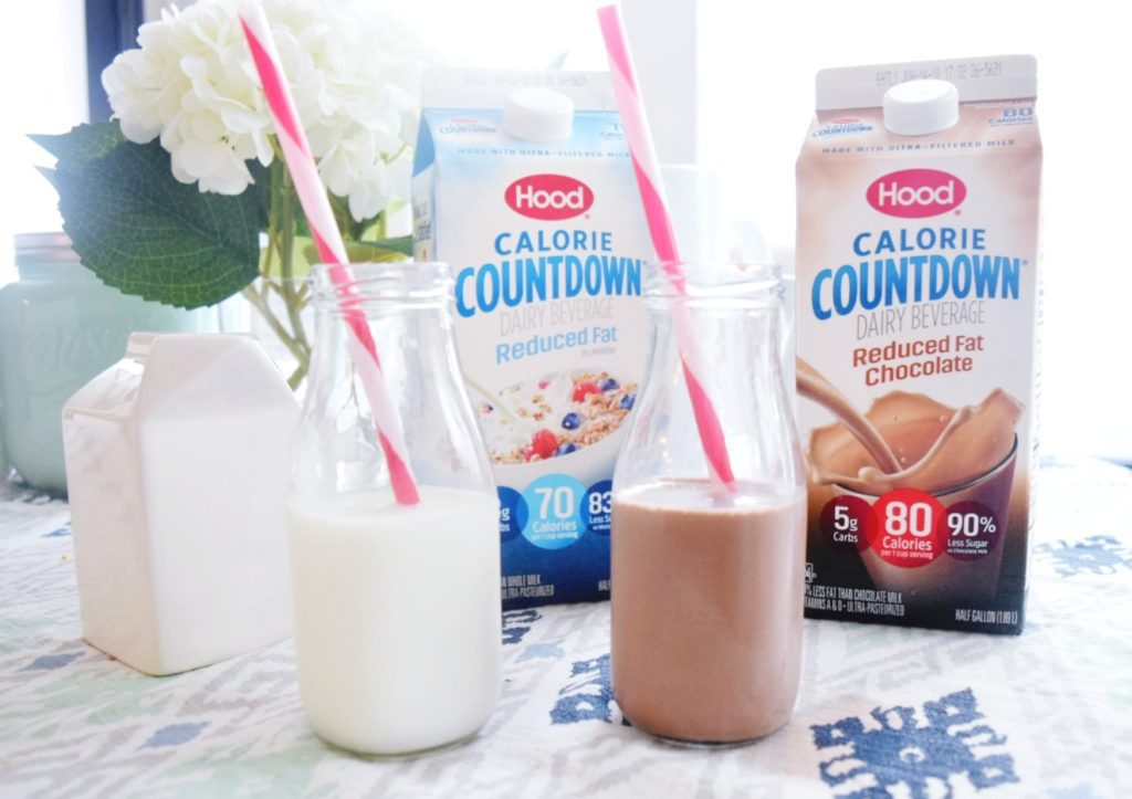 Hood Calorie Countdown Chocolate and 2% Dairy Beverage Less Sugar and More Protein than Regular Milk