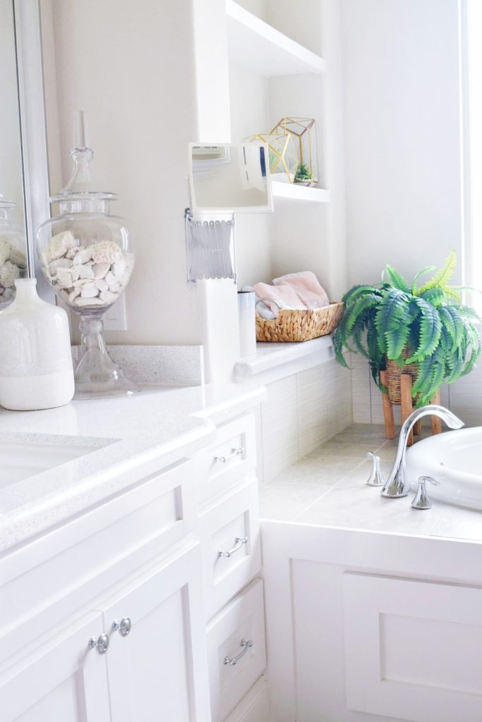 Beautiful Master Bathroom Refresh On a Budget How To Decorate Bathroom Tips and Ideas for Affordable and Stylish Bathroom Decor Decorating Bathrooms on a Budget