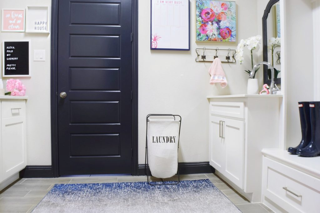budget friendly laundry room update before and after: laundry room makeover decor ideas and organizing tips on a budget