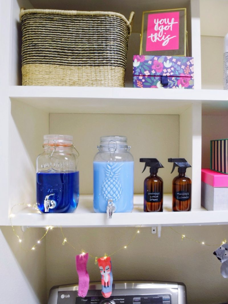 Budget Friendly Laundry Room Update Before And After We Re The Joneses