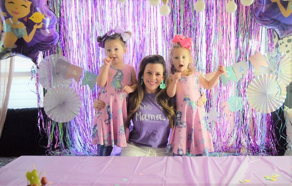 birthday party ideas for twins mermaid birthday party ideas mermaid dress and mermama tee