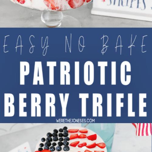 no bake berry trifle recipe