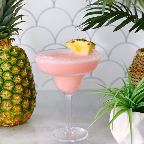 alcoholic drink called chi chi in a cocktail glass