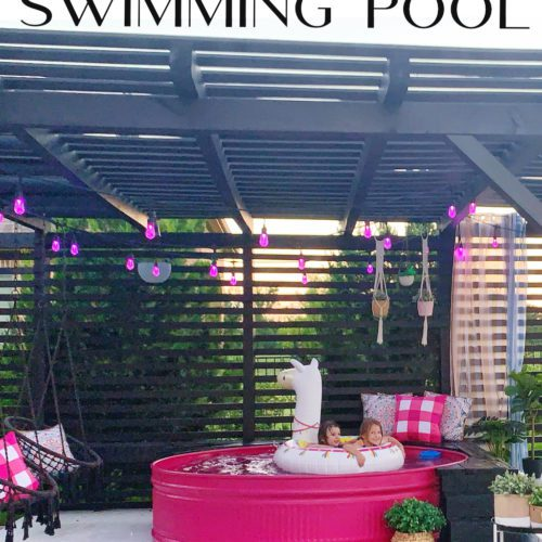 HOW TO INSTALL A STOCK TANK POOL