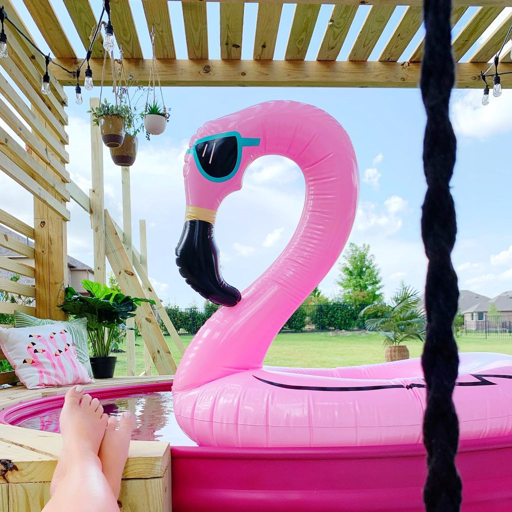 How To Build a Stock Tank Pool (And Paint it Pink!) Best Stock Tank Pool DIY
