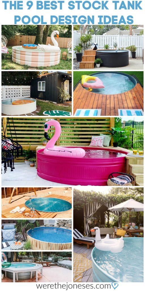 The 9 BEST Stock Tank Pool Design Ideas and DIY Pool Decks