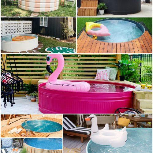 best stock tank pool designs