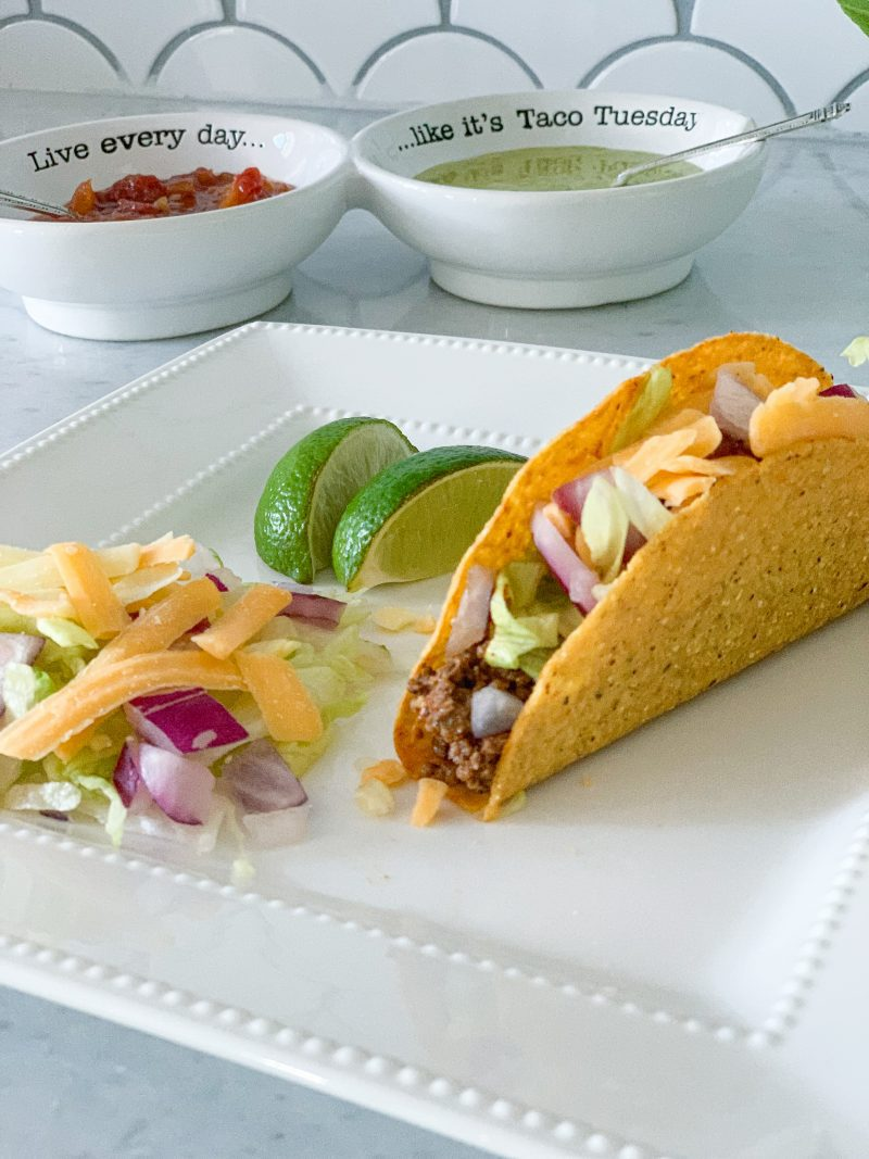 best ground beef tacos with homemade taco seasoning