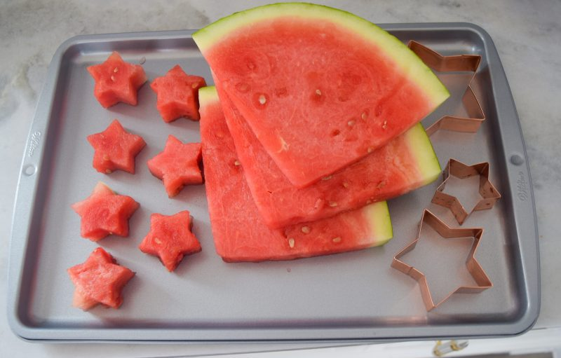 watermelon fruit sparklers start shaped watermelon cookie cutters