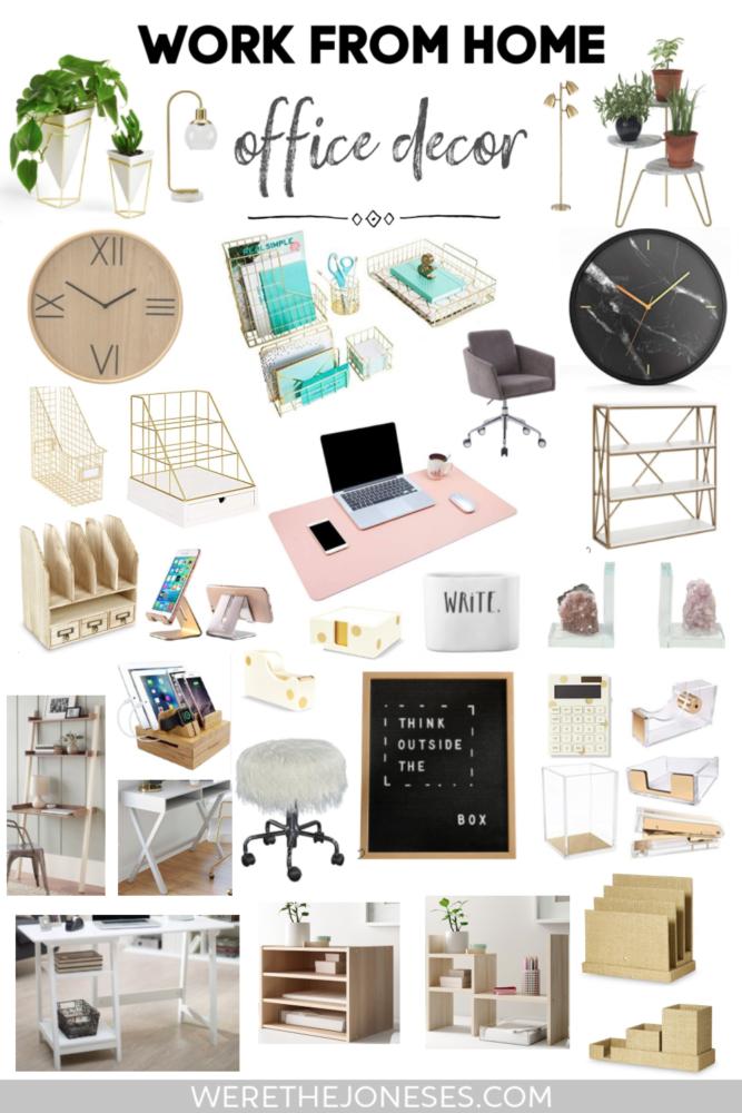 Home Office Decor Ideas Under 100 We Re The Joneses