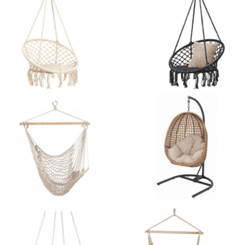 outdoor chair swings for patio