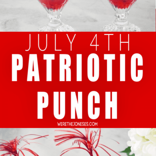 JULY 4TH PATRIOTIC PUNCH RECIPE