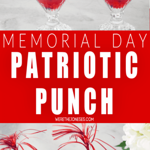 memorial day drink recipe patriotic punch