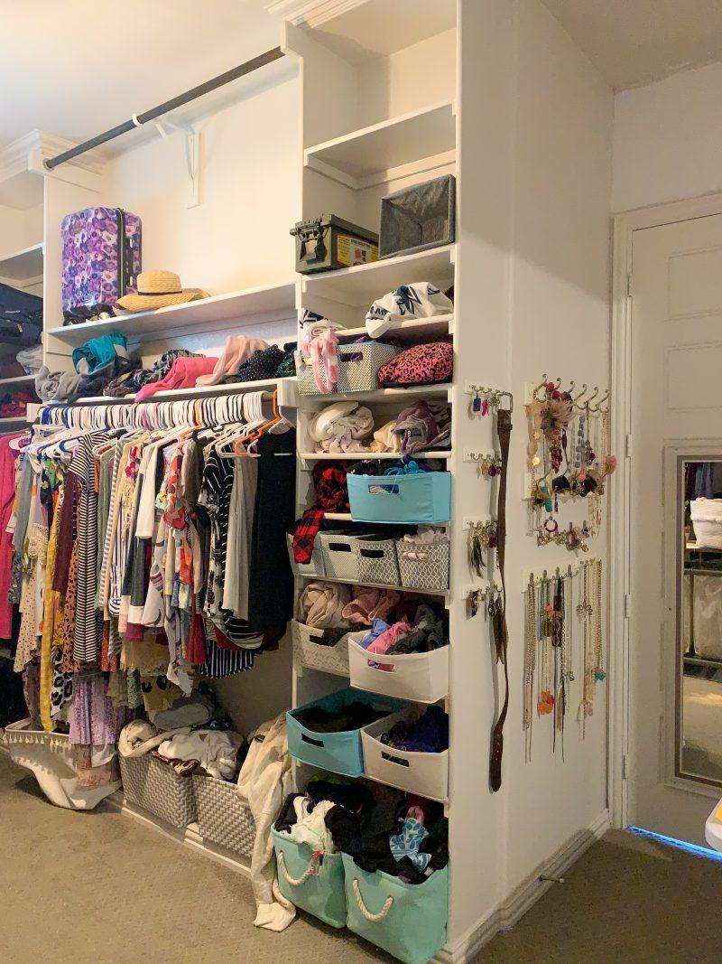 one room challenge master closet renovation