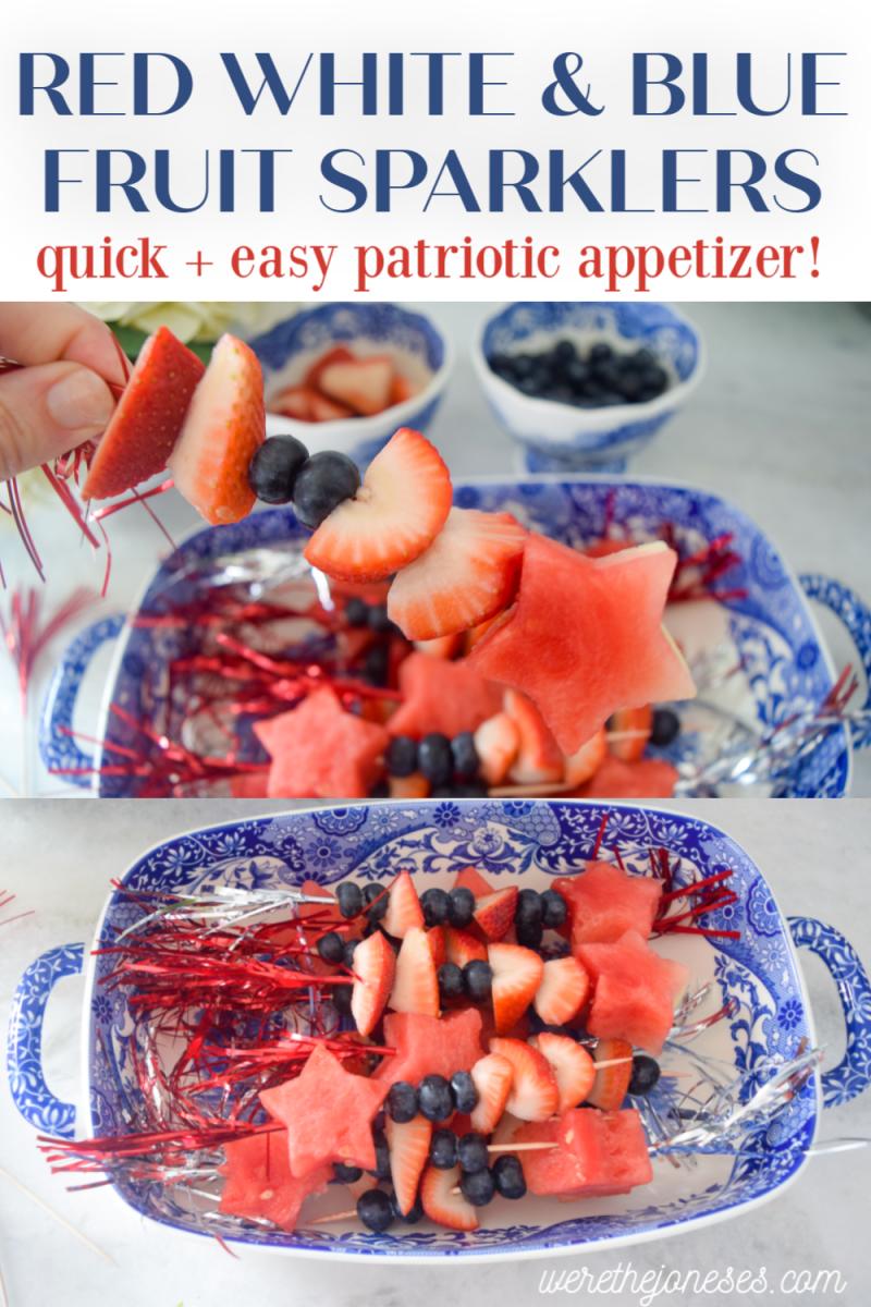 easy patriotic recipes fruit skewers