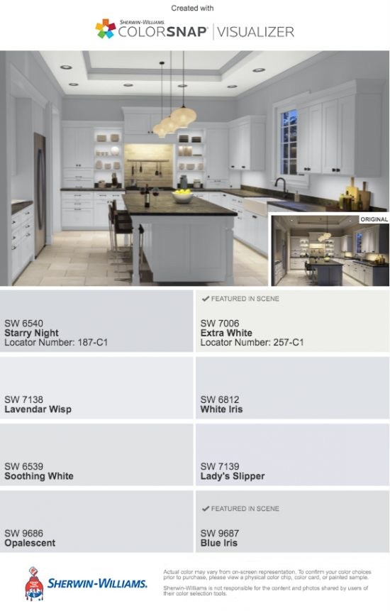 sherwin williams grey blue paint samples starry night soothing white opalescent