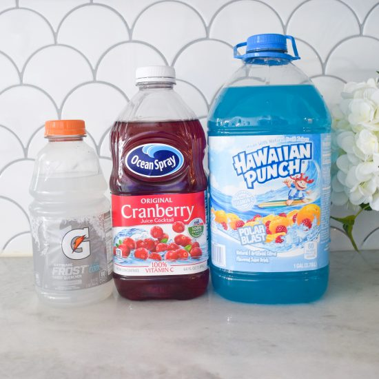 kid friendly red white and blue drinks