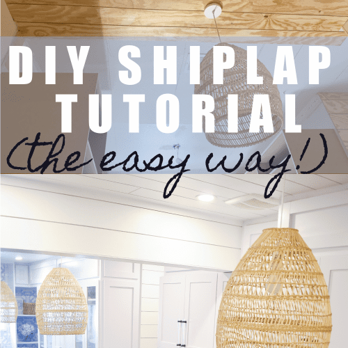 shiplap with plywood