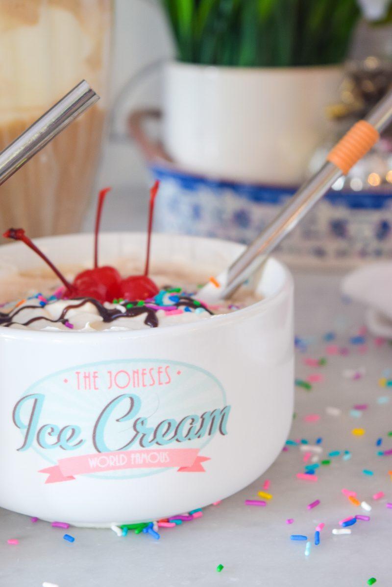 Ice Cream Sundae Float