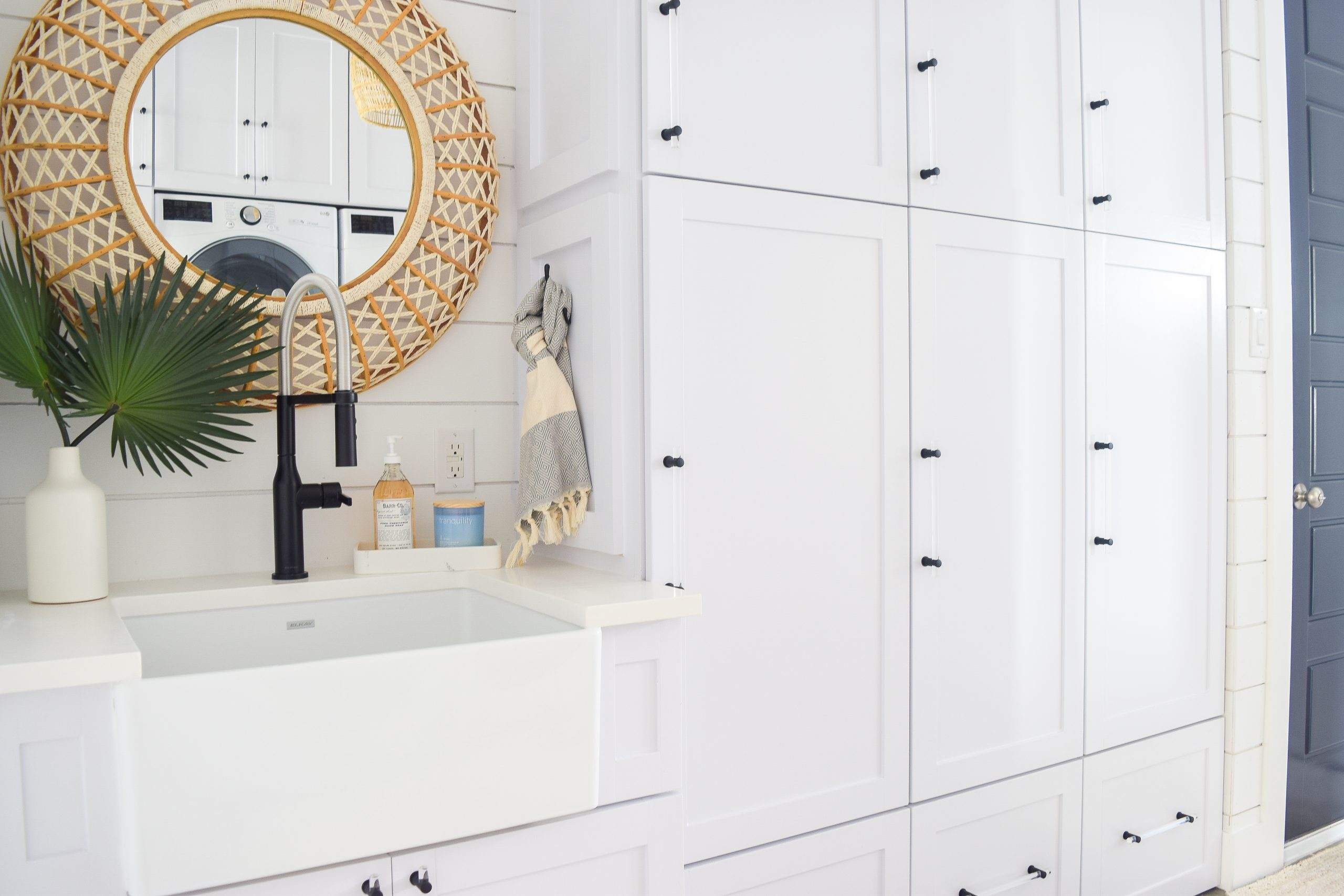High-end and luxury laundry rooms