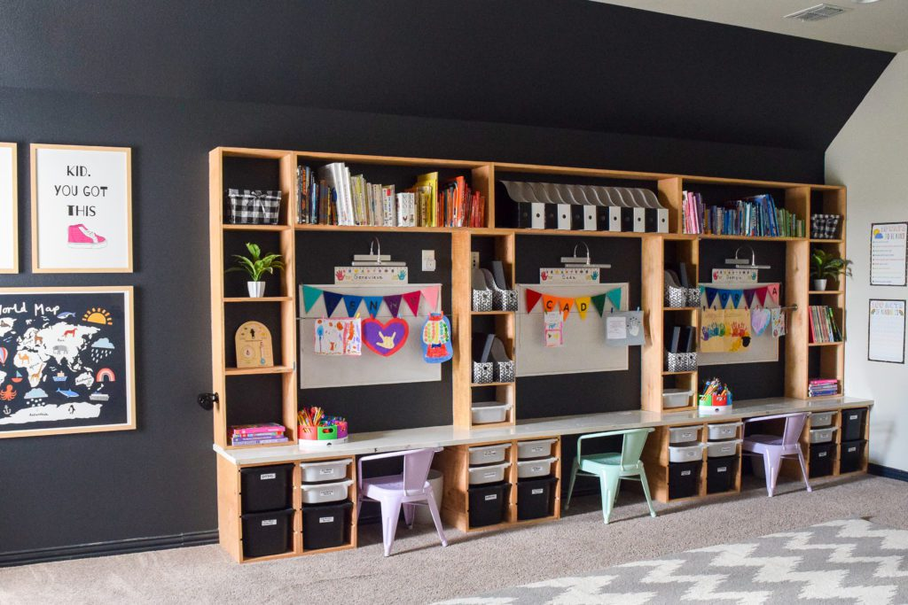 creating a classroom at home