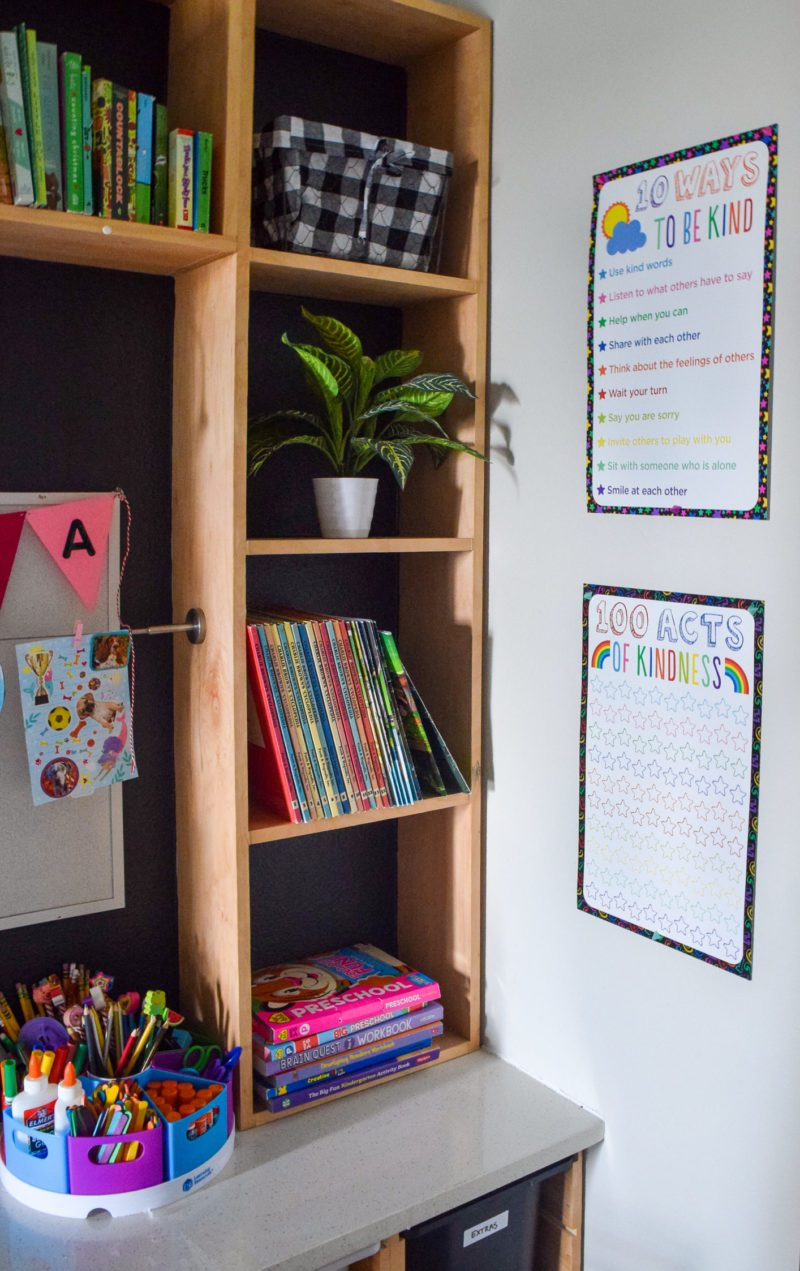 home learning space ideas