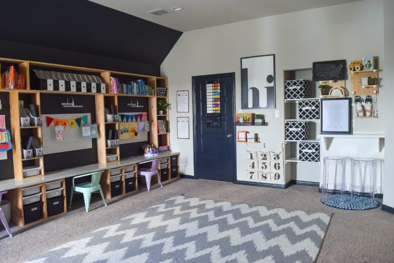 creating a learning space at home