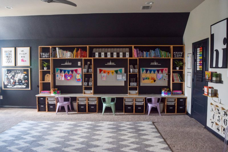 setting up a learning space at home