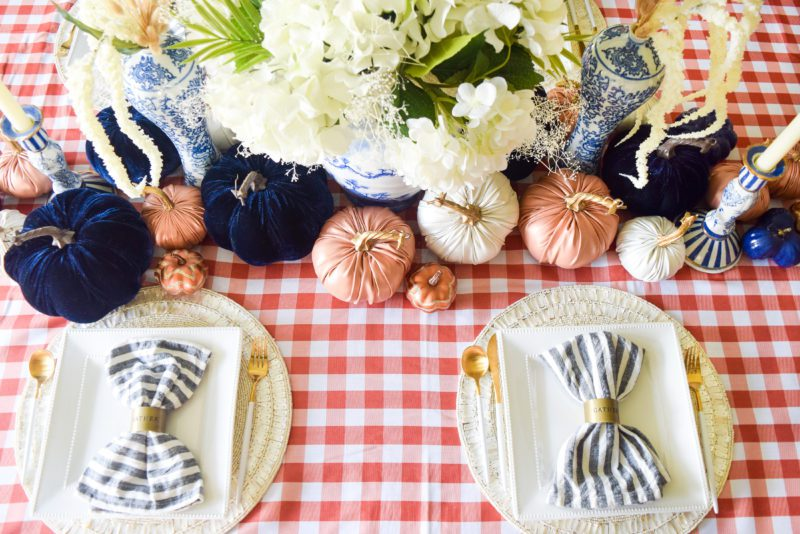 Best fall table setting inspiration