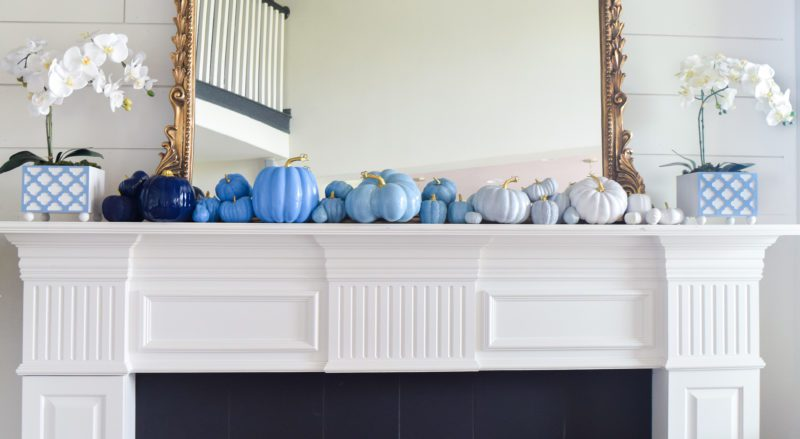 Make your own ombre pumpkins