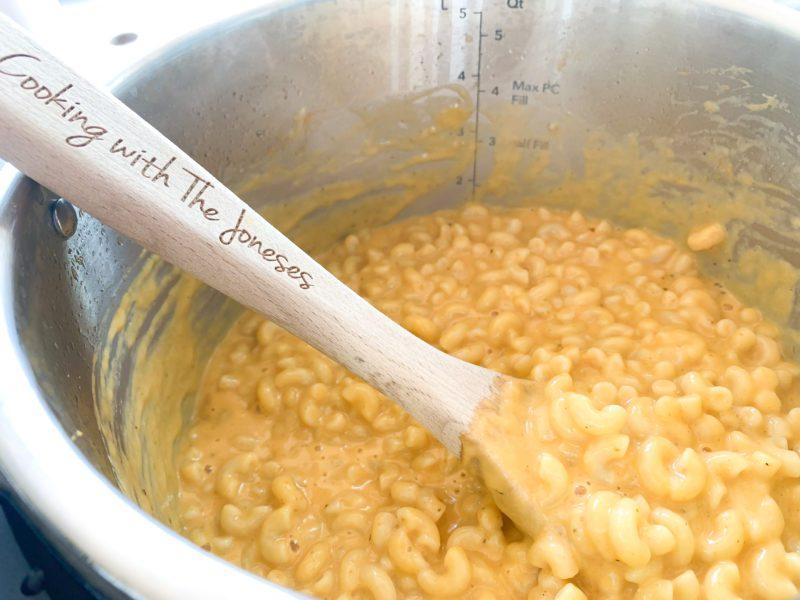 Instant pot pumpkin pasta