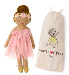 plush ballerina doll
