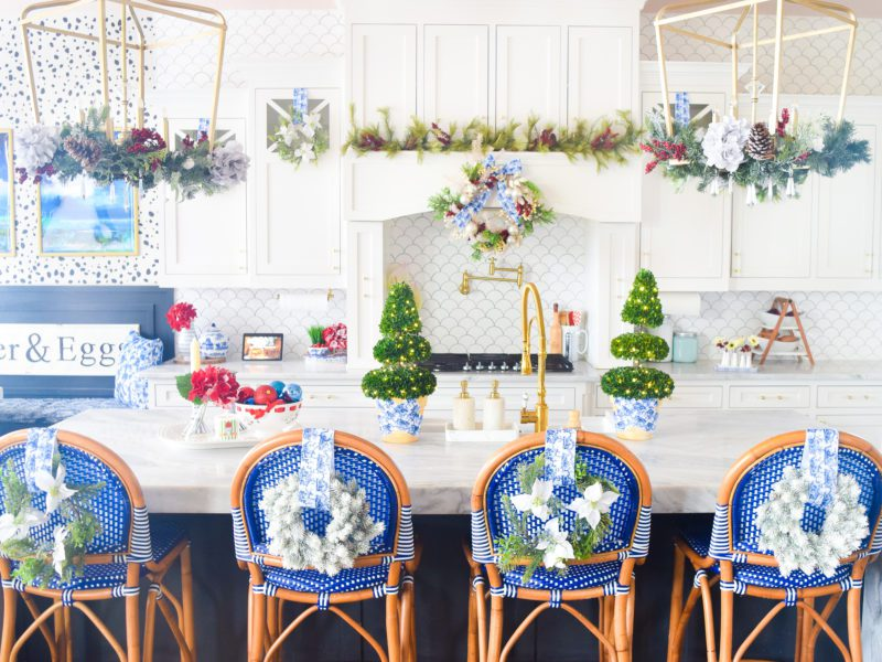 christmas kitchen decor
