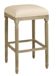 modern upholstered bar stool backless