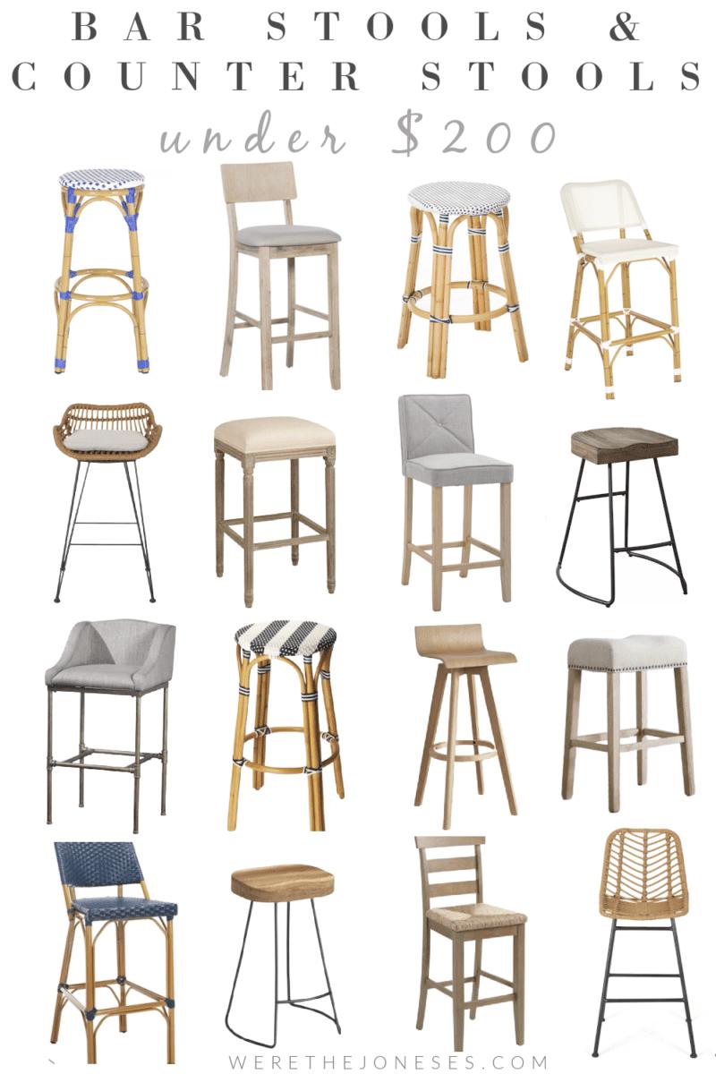 affordable kitchen bar stools