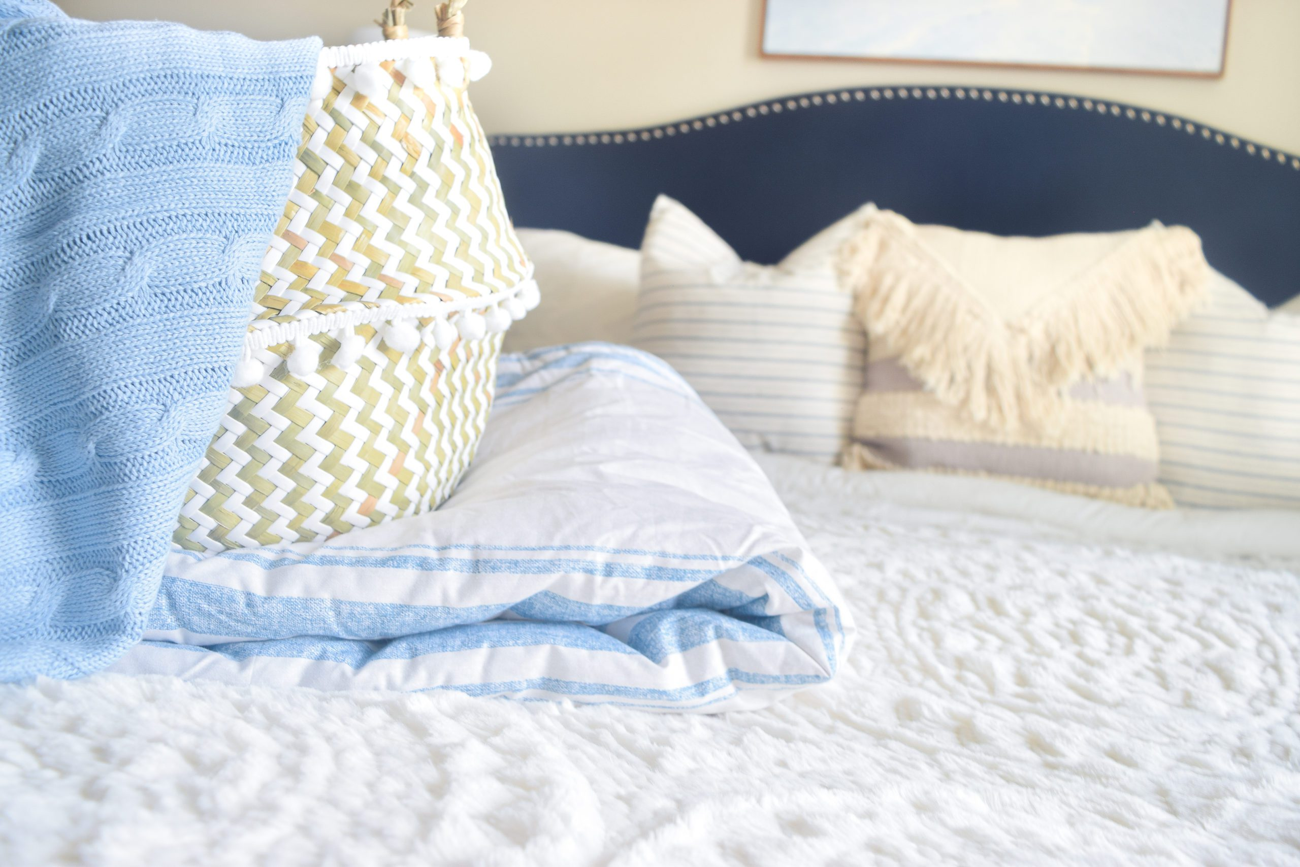 Affordable bedroom decor from Walmart