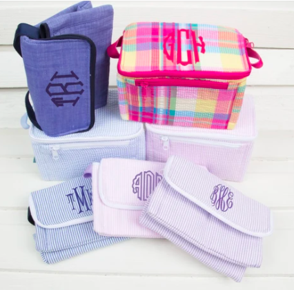 monogram lunch boxes for kids